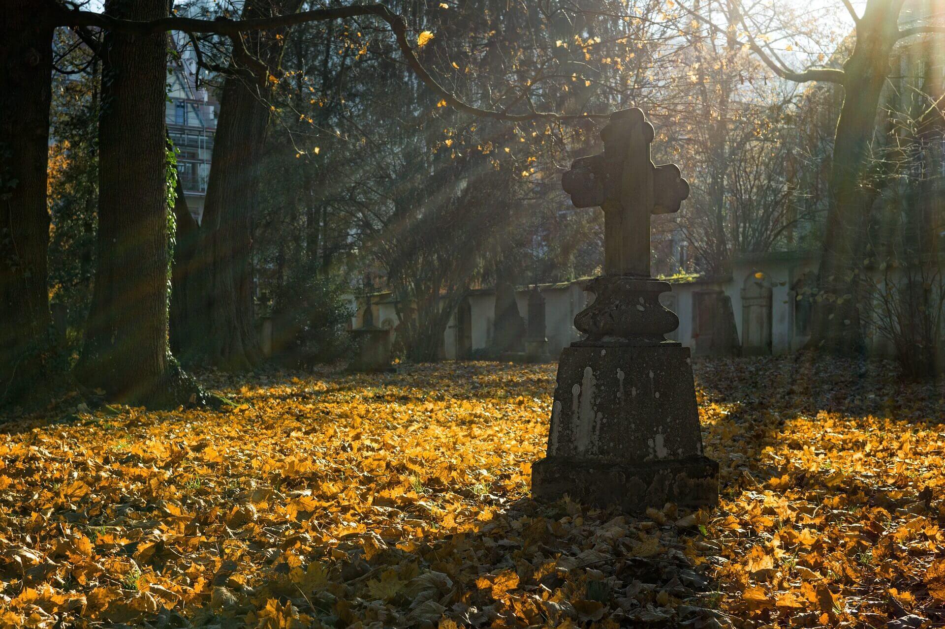 Miejsce na cmentarzu - pogrzeb.